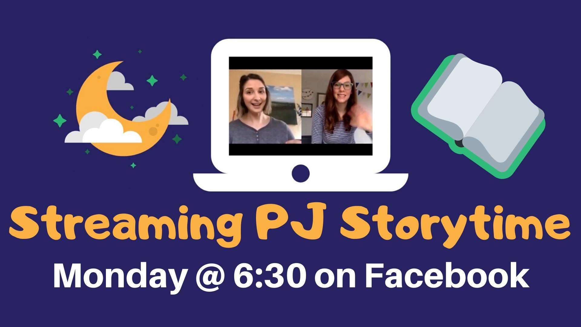 Streaming PJ Storytime (on Facebook)