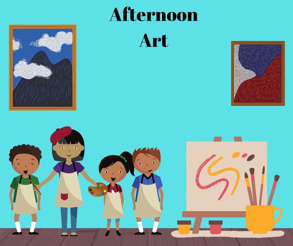 Virtual Afterschool Art