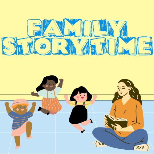 Family Storytime (In-person or Zoom)