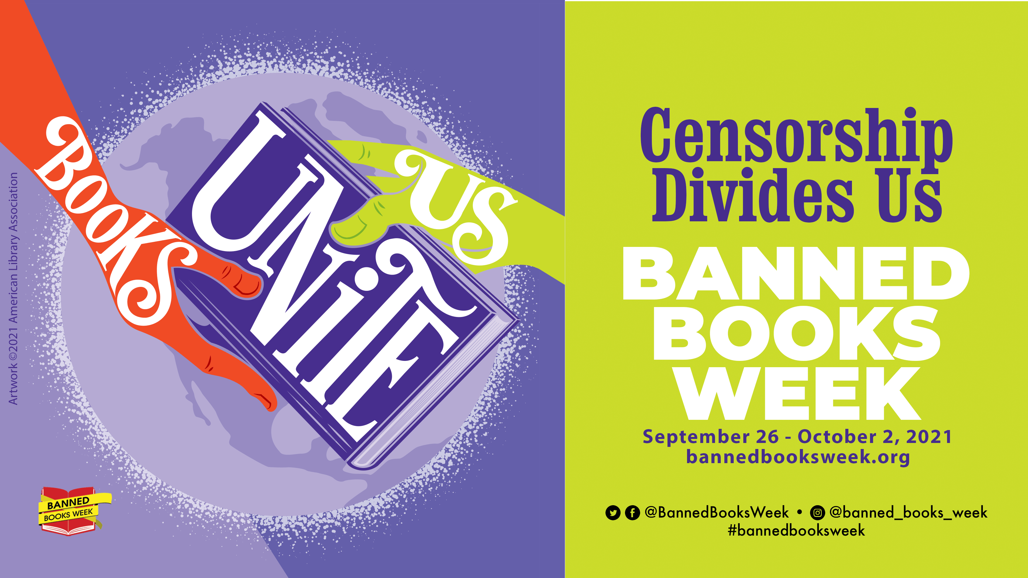 Celebrate Banned Books Week with Adult and Teen Services!