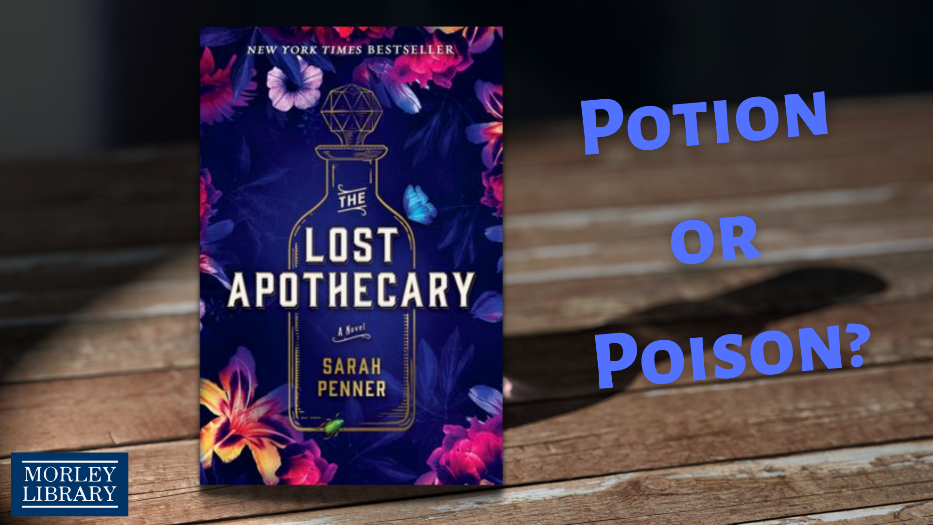 Potion or Poison? The Lost Apothecary Booktalk Trailer