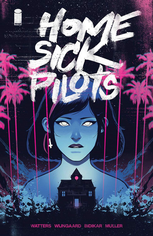 Halloween Booktalk: Home Sick Pilots, Vol. 1: Teenage Haunts