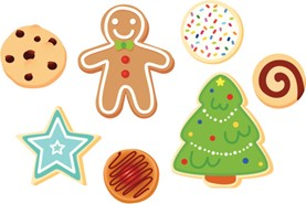 Family Holiday Cookie Decorating!