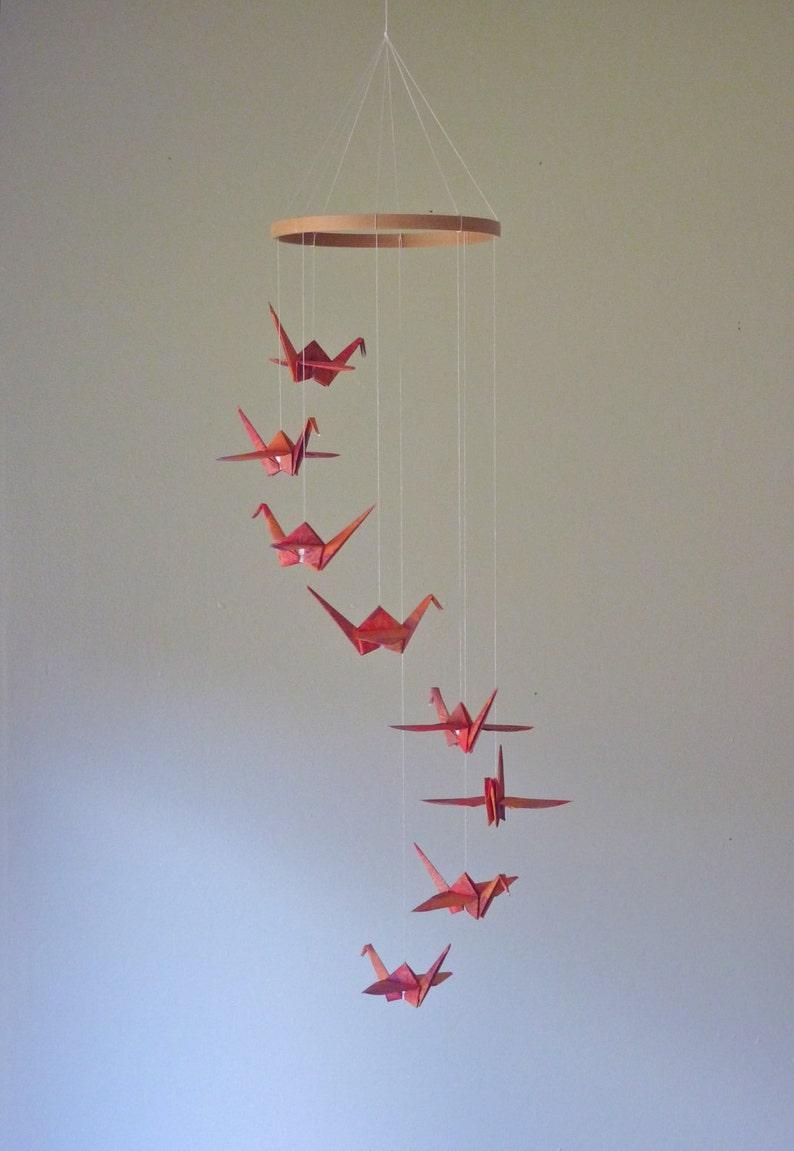Adult Craft Kit: Origami Crane Mobile