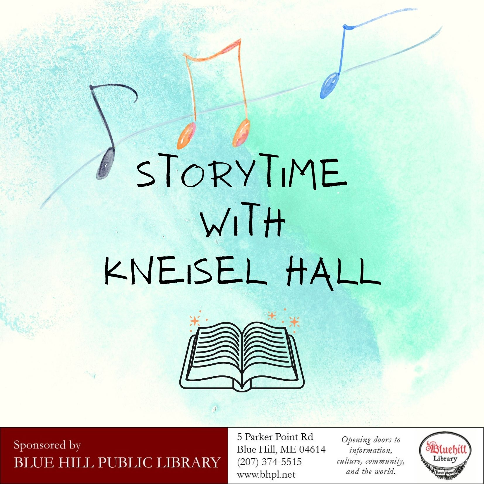 Storytime with Kneisel Hall