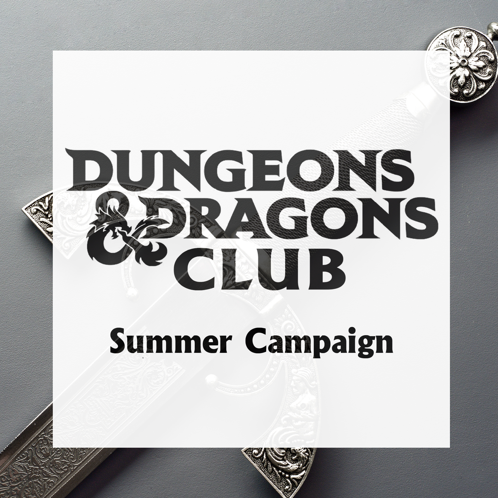 Dungeons & Dragons Club: Summer Campaign