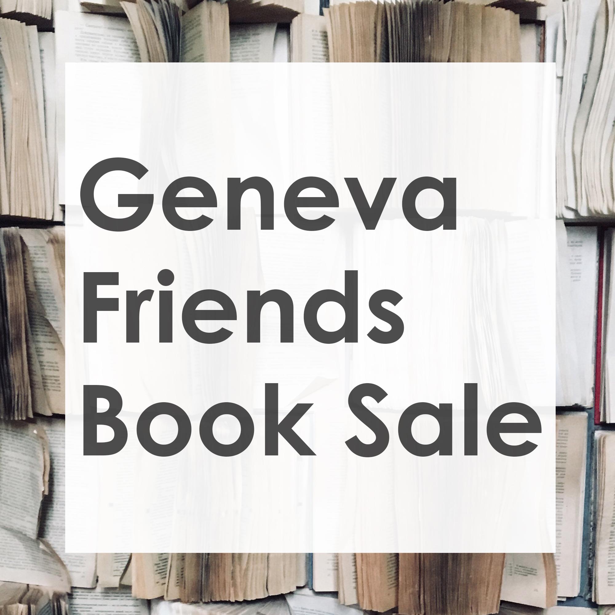 Friends of Geneva Library Book Sale