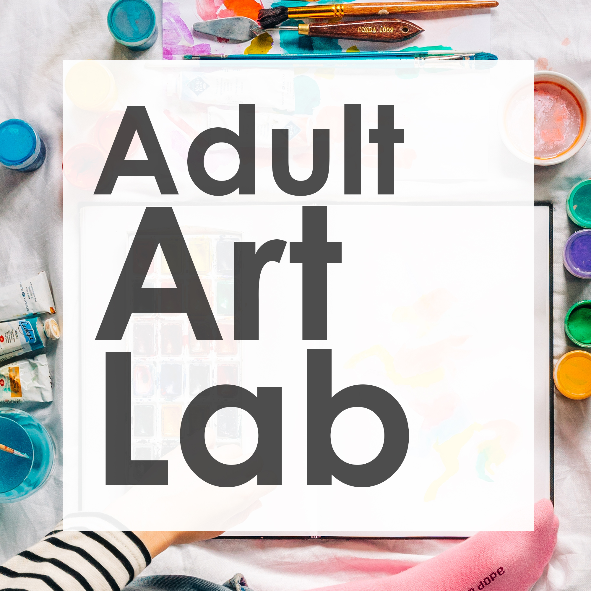 Open Adult Art Lab Inspired by the Book An American Sunrise by Joy Harjo
