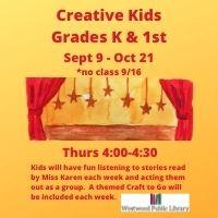Creative Kids (Registration Required)