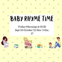 Baby Rhyme Time (Registration Required)