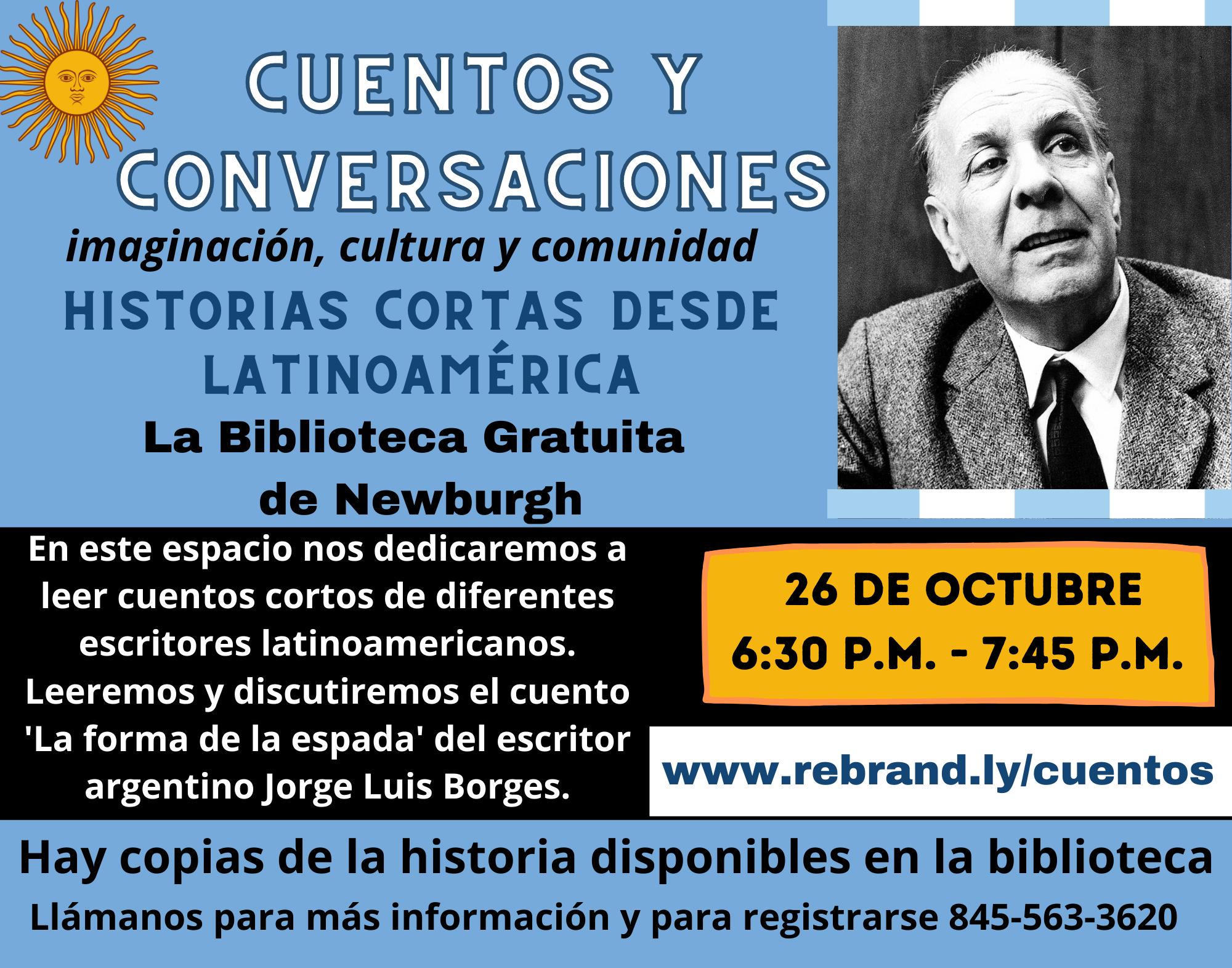 Cuentos Cortos y Conversación: La forma de la espada de Jorge Luis Borges