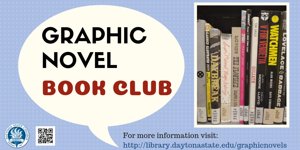 Daytona State College Library Graphic Novel Book Discussion Group