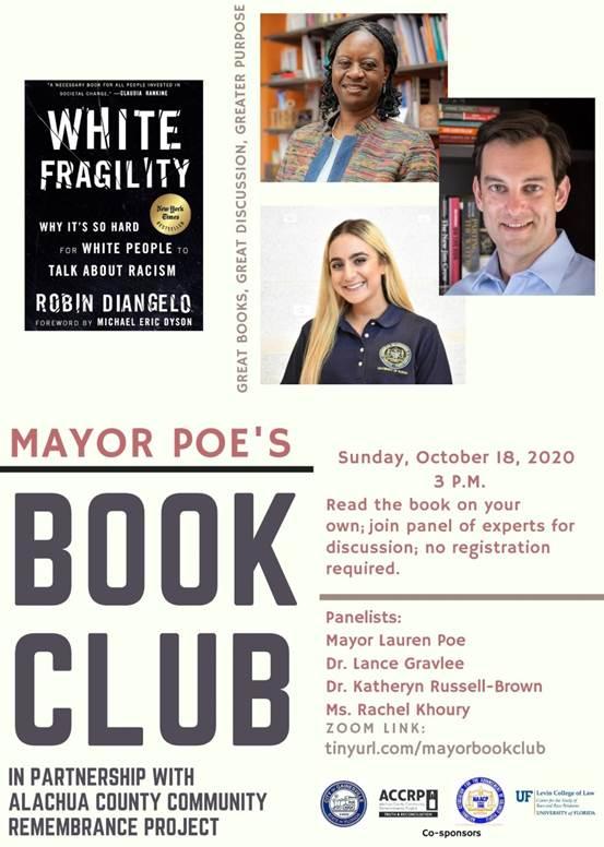 Mayor Poe's Book Club: White Fragility
