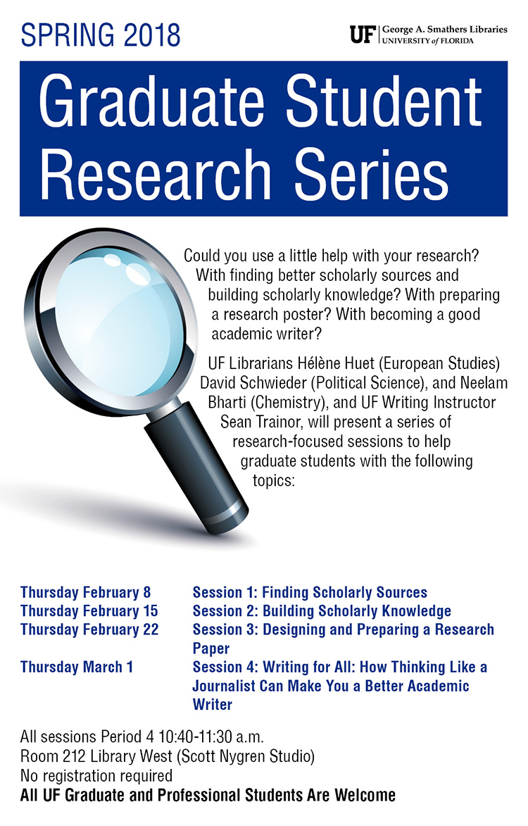 Designing and Preparing a Research Poster