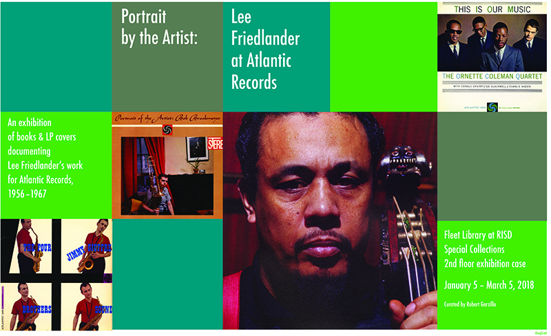 Portrait by the Artist: Lee Friedlander at Atlantic Records