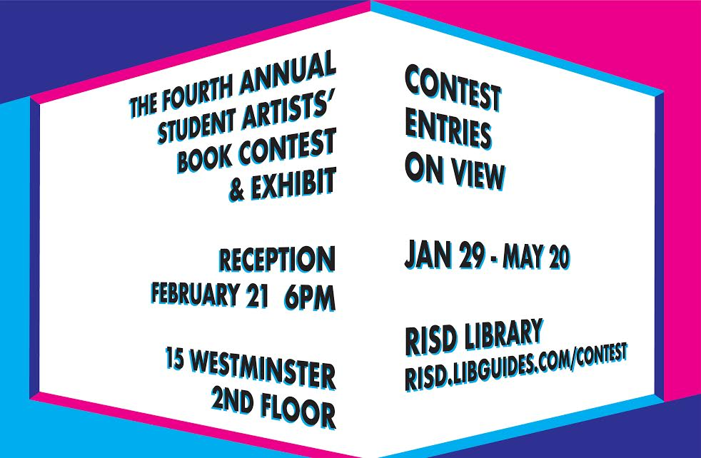 4th Annual Student Artists' Book Contest and Exhibit