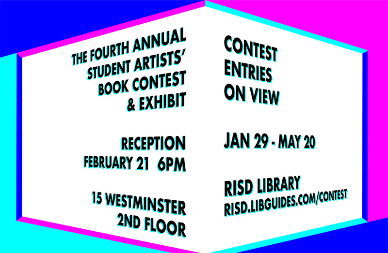 Student Artists' Book Contest and Exhibit