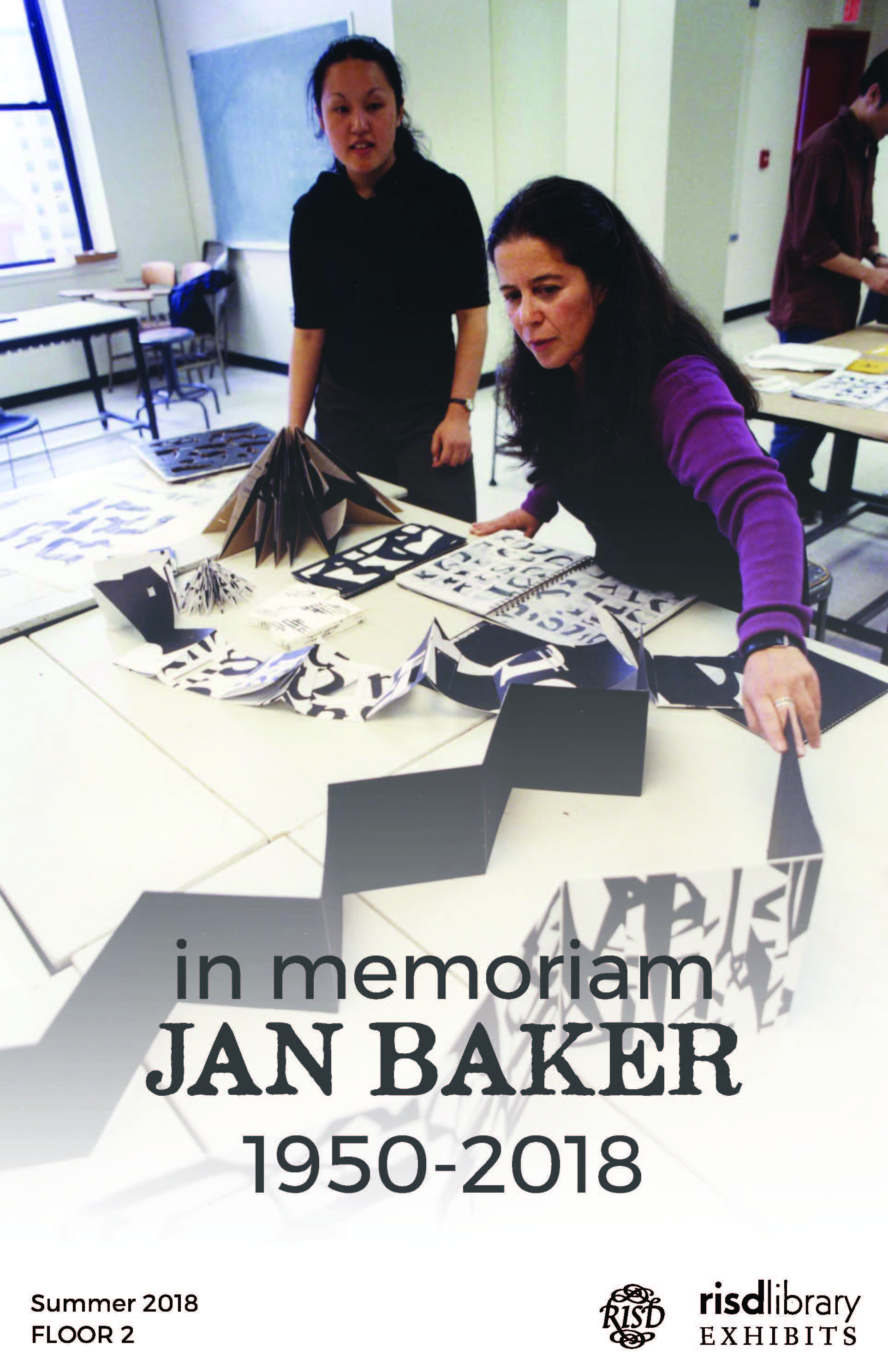 In Memoriam: JAN BAKER 1950-2018
