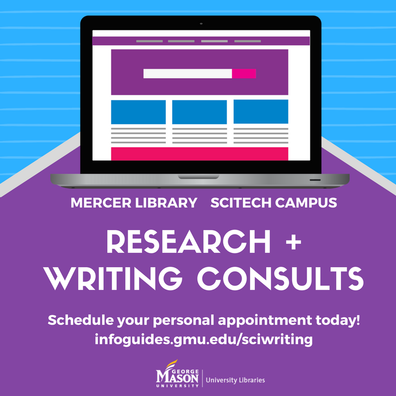 Research + Writing Drop-ins @Mercer Library