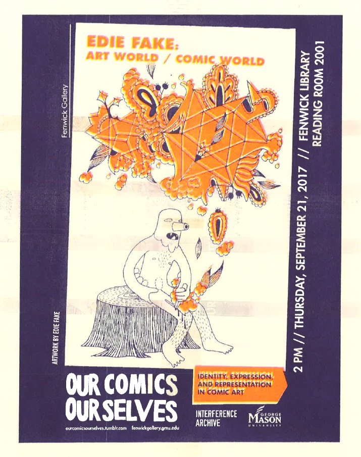 Our Comics, Ourselves: Art World/Comics World with Edie Fake