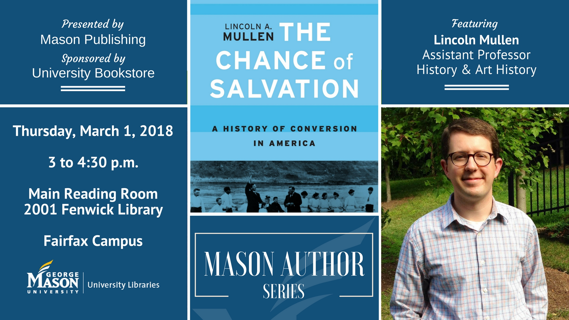 Mason Author Series: Lincoln Mullen