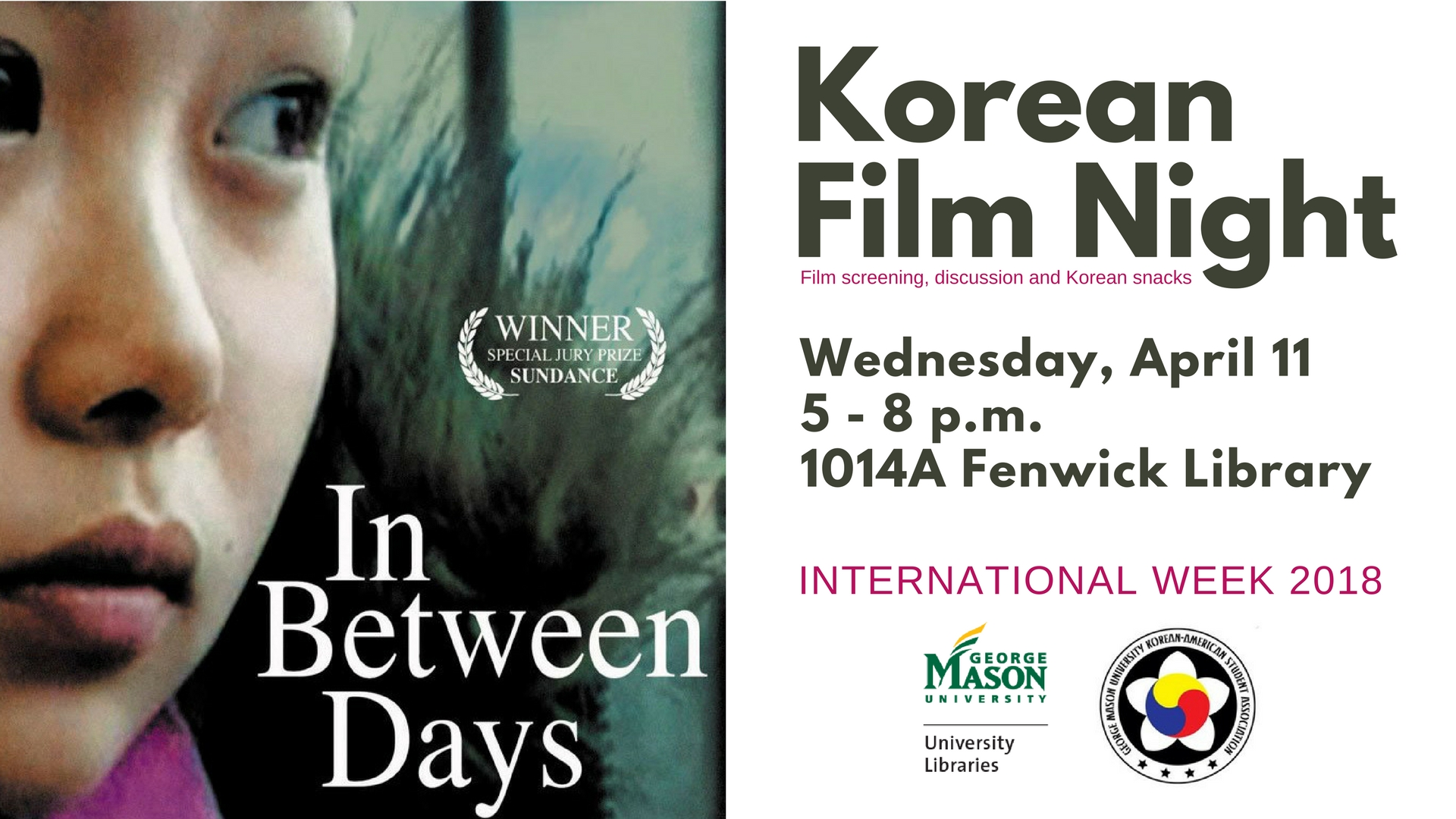 Korean Film Night: In Between Days