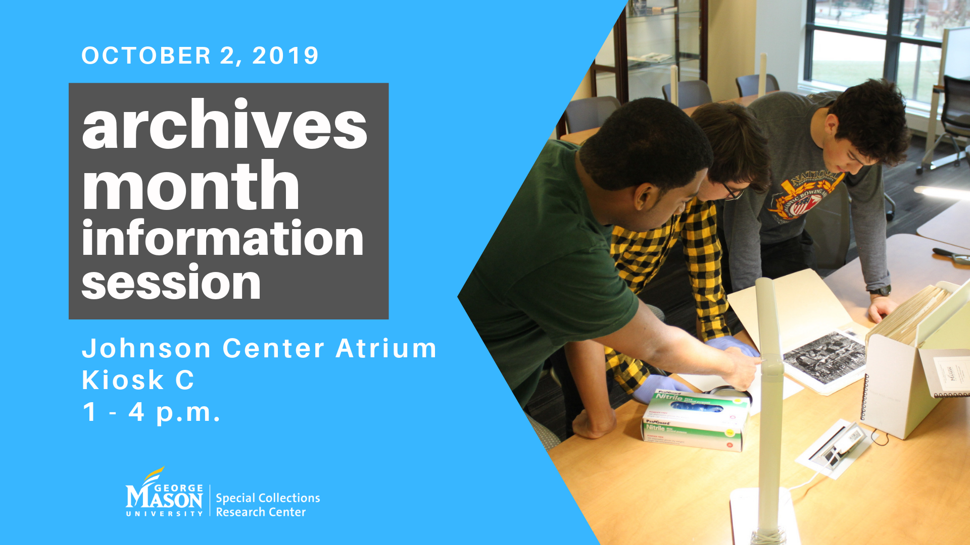 Archives Month Information Session
