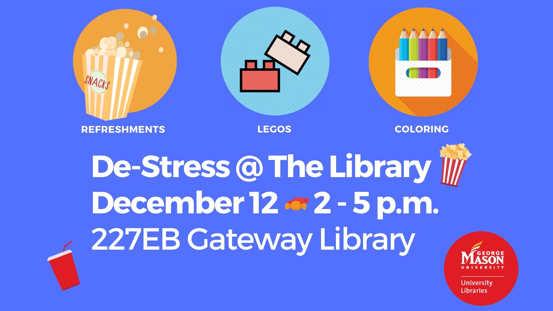 De-Stress@Gateway Library