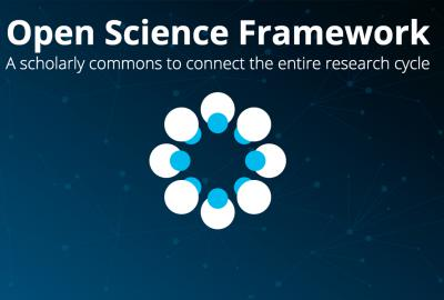 OSF 101: Introduction to the Open Science Framework