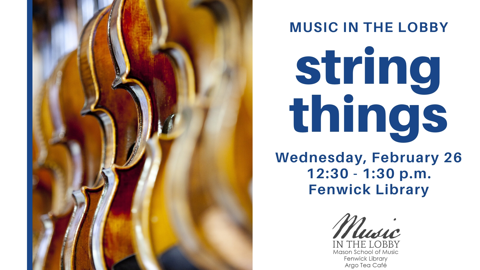 Music in the Lobby: string things