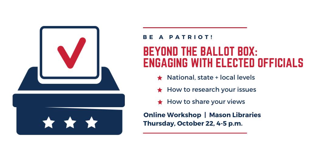 Be a Patriot: Beyond the Ballot Box