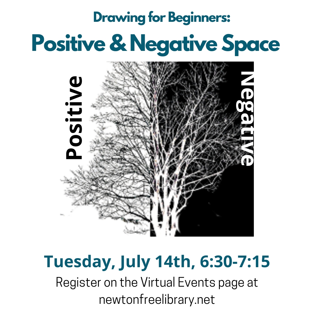 Drawing for Beginners: Positive/Negative Space (Zoom)