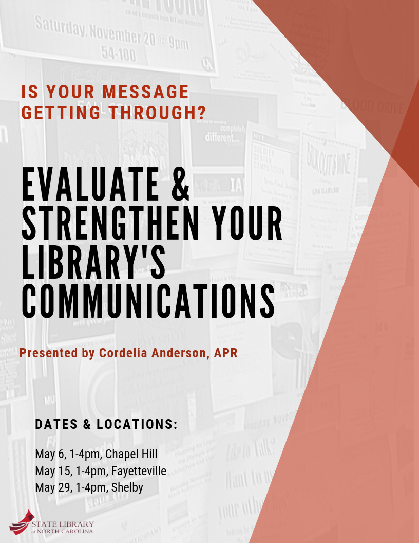 Evaluate & Strengthen your Library's Communications