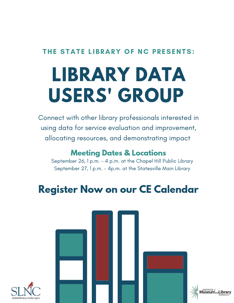 Library Data Users' Group Meeting: Data Visualization