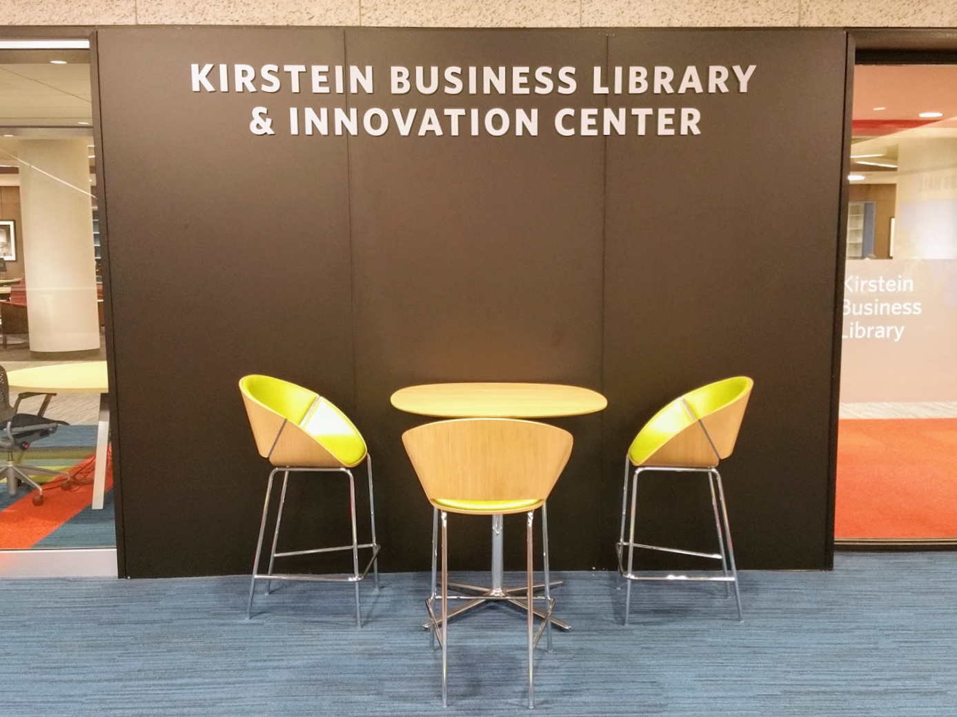 Career Resource Week: Resources and Services from the Kirstein Business Library & Information Center