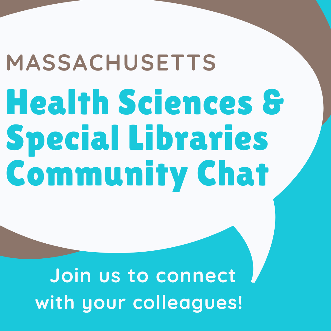 Community Chat:  Health Sciences and Special Libraries