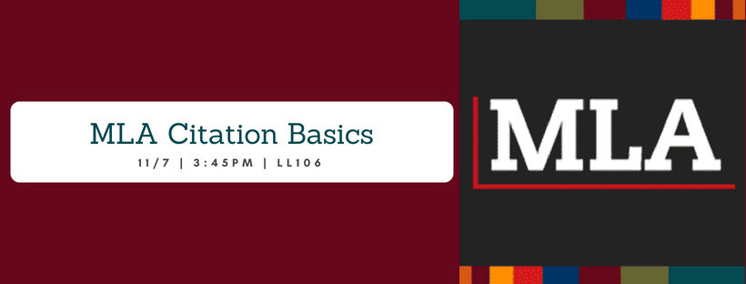 MLA Citation Basics