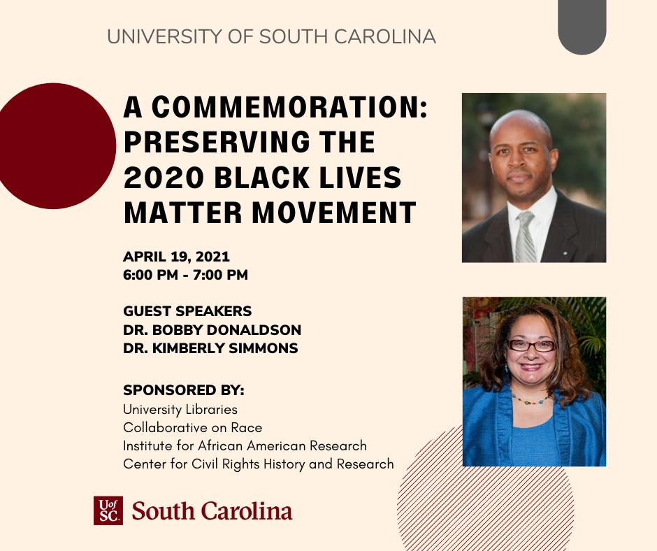 A Commemoration: Preserving the 2020 Black Lives Matter Movement