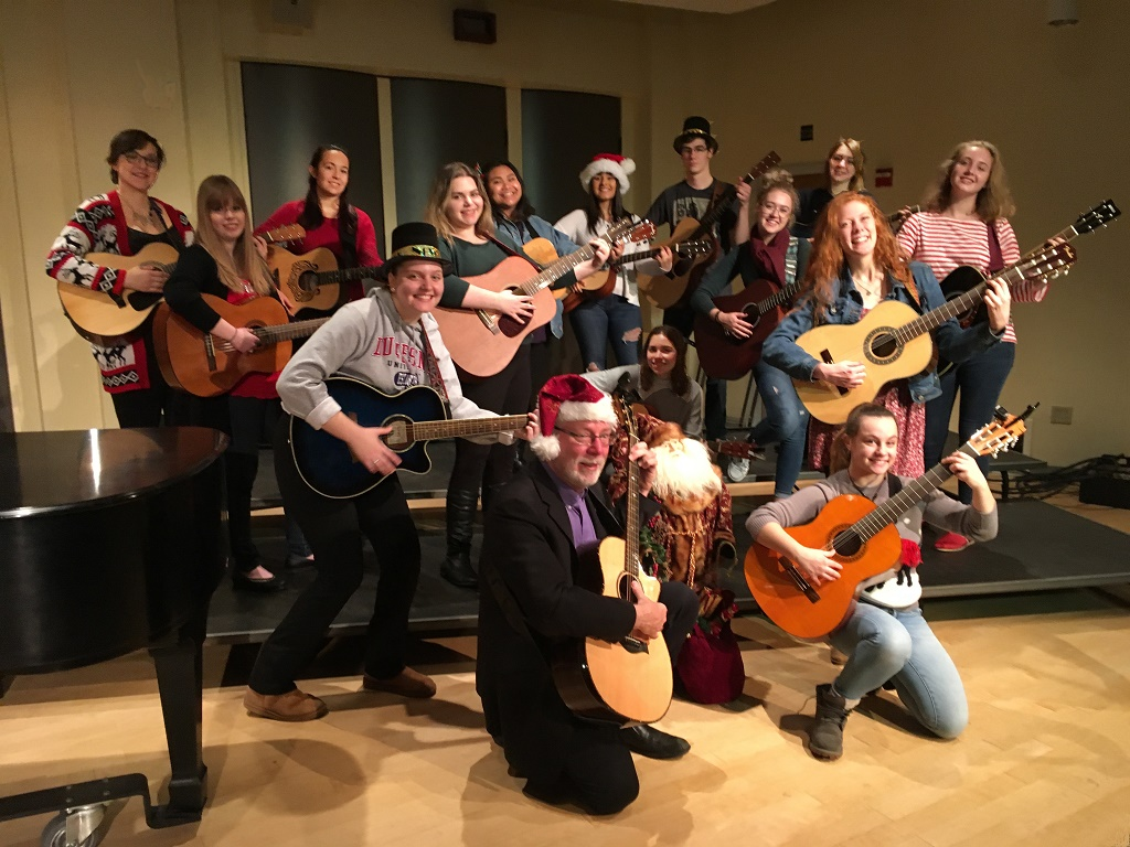 Holiday Music by Music Therapy Guitar Class
