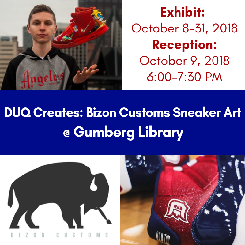 DUQ Creates: Bizon Customs Sneaker Art Exhibit