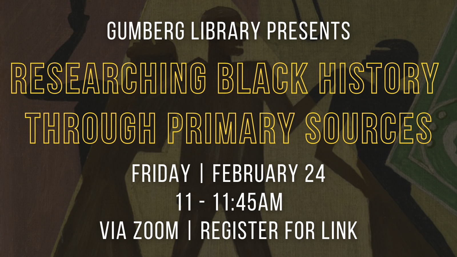Researching Black History Through Primary Sources