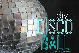 DYI: Disco Ball Craft