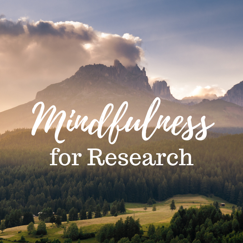 Mind FULL or Mindful? Stress Relief for Research Workshop