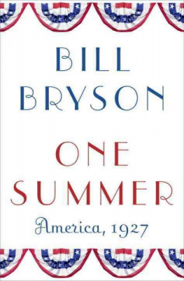 "Blue and Yellow Book Club: ""One Summer: America, 1927"""