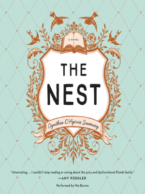 """Blue and Yellow Book Club: """"The Nest"""""""