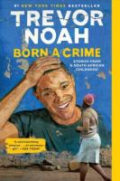 "Arlington 55+ Book Club: ""Born a Crime"""