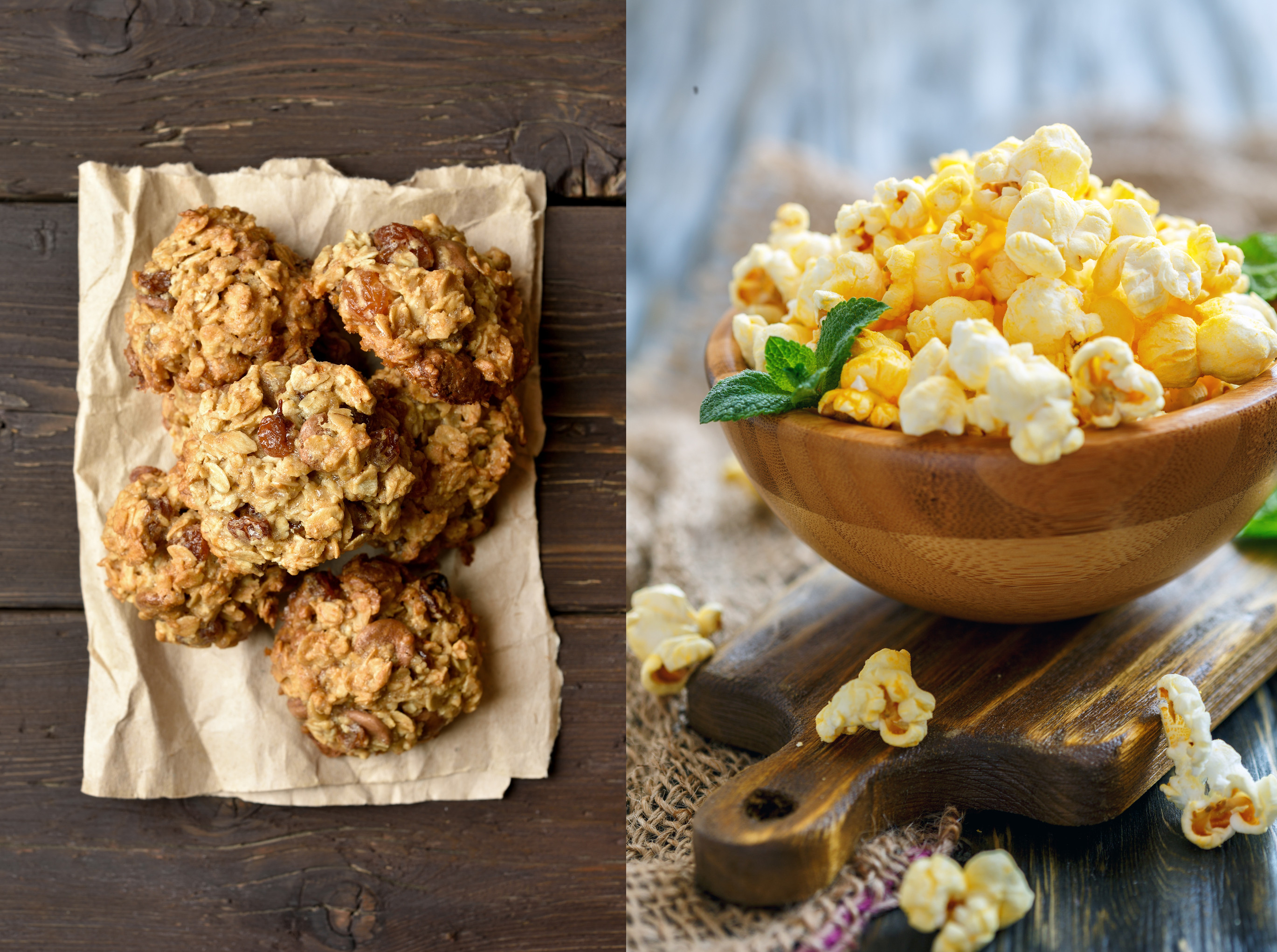 Make a Treat: No Bake Cookies or Gourmet Popcorn