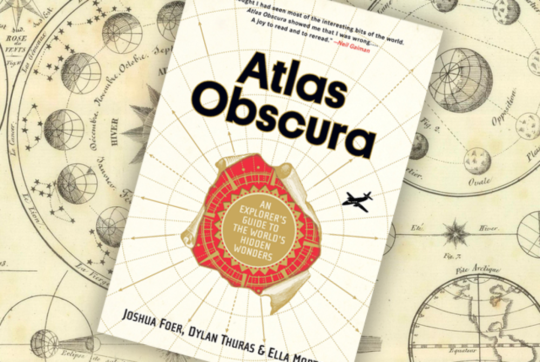 CANCELLED - Exploring Secret Histories: An evening with the Atlas Obscura Society D.C.