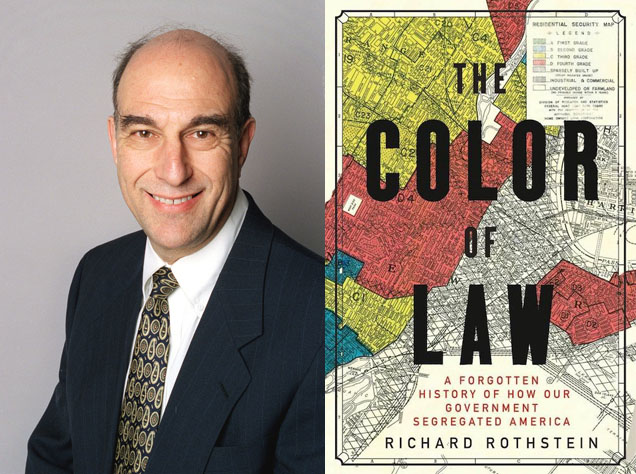 "Arlington Reads - Richard Rothstein, Author of ""The Color of Law"""