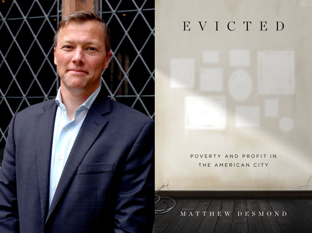 "Arlington Reads: Matthew Desmond, Author of ""Evicted"""